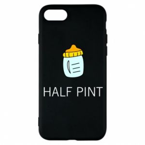 Phone case for iPhone 8 Half pint