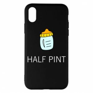 Phone case for iPhone X/Xs Half pint