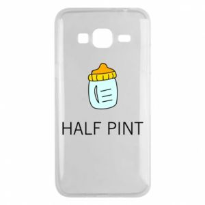 Phone case for Samsung J3 2016 Half pint