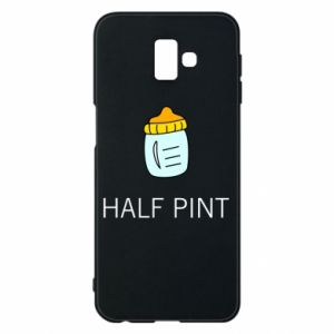 Phone case for Samsung J6 Plus 2018 Half pint