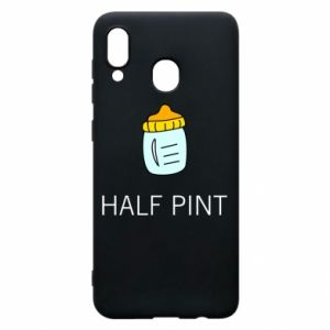 Phone case for Samsung A20 Half pint