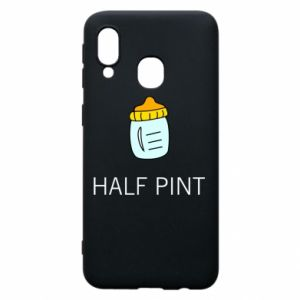 Phone case for Samsung A40 Half pint