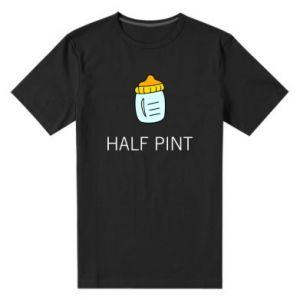 Męska premium koszulka Half pint