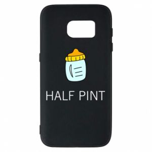 Phone case for Samsung S7 Half pint