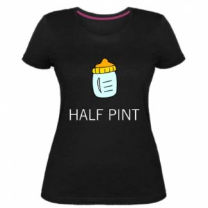 Women's premium t-shirt Half pint