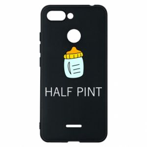 Phone case for Xiaomi Redmi 6 Half pint