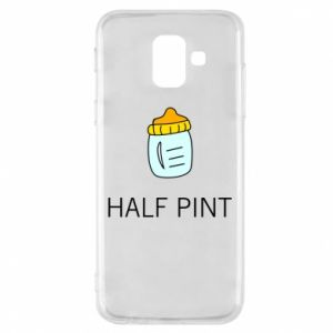 Phone case for Samsung A6 2018 Half pint