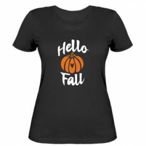 Damska koszulka Hallo Fall