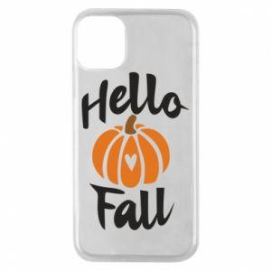 Etui na iPhone 11 Pro Hallo Fall