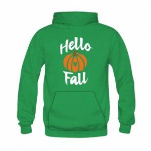 Bluza z kapturem dziecięca Hallo Fall