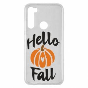 Etui na Xiaomi Redmi Note 8 Hallo Fall