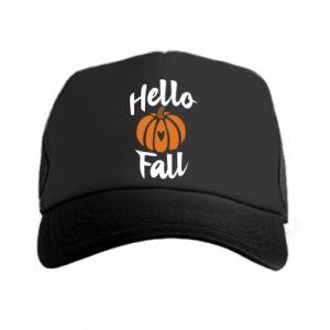 Czapka trucker Hallo Fall