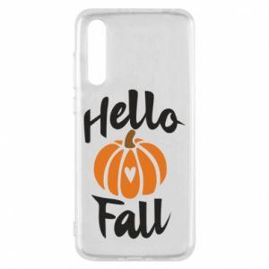 Etui na Huawei P20 Pro Hallo Fall