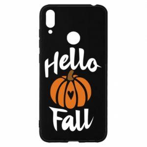 Etui na Huawei Y7 2019 Hallo Fall