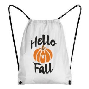 Plecak-worek Hallo Fall