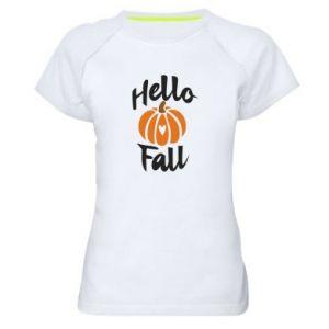 Koszulka sportowa damska Hallo Fall