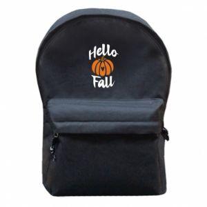 Plecak z przednią kieszenią Hallo Fall