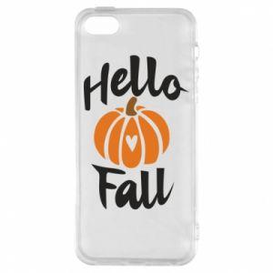 Etui na iPhone 5/5S/SE Hallo Fall