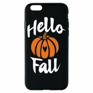 Etui na iPhone 6/6S Hallo Fall