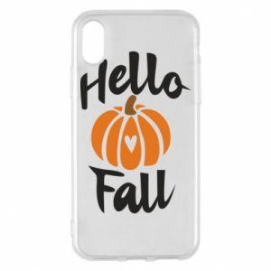 Etui na iPhone X/Xs Hallo Fall