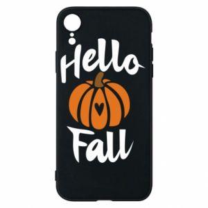 Etui na iPhone XR Hallo Fall