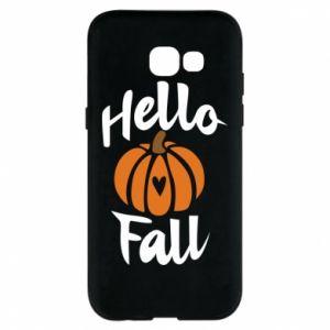 Etui na Samsung A5 2017 Hallo Fall