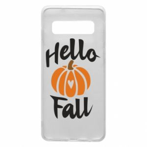 Phone case for Samsung S10 Hallo Fall