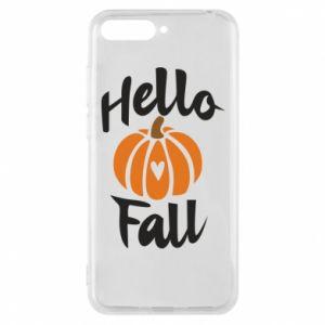 Etui na Huawei Y6 2018 Hallo Fall