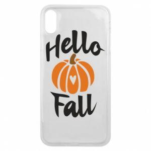 Etui na iPhone Xs Max Hallo Fall