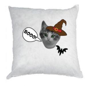 Poduszka Halloween. Kotek - PrintSalon