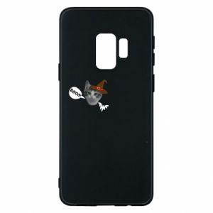 Etui na Samsung S9 Halloween. Kotek - PrintSalon
