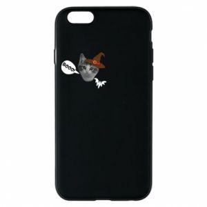 Etui na iPhone 6/6S Halloween. Kotek - PrintSalon