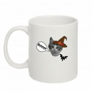 Mug 330ml Halloween. Kitty