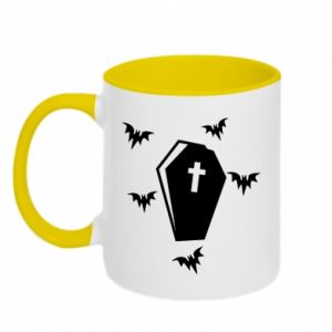Two-toned mug Halloween