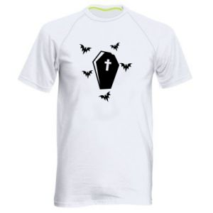 Men's sports t-shirt Halloween