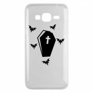 Phone case for Samsung J3 2016 Halloween - PrintSalon