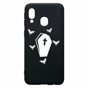 Phone case for Samsung A40 Halloween - PrintSalon