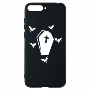 Phone case for Huawei Y6 2018 Halloween - PrintSalon