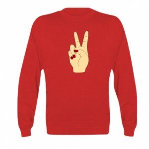 Bluza dziecięca Hand peace