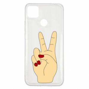 Etui na Xiaomi Redmi 9c Hand peace