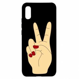 Etui na Xiaomi Redmi 9a Hand peace