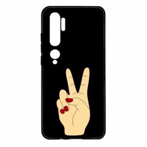 Etui na Xiaomi Mi Note 10 Hand peace