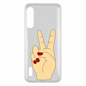 Etui na Xiaomi Mi A3 Hand peace