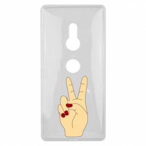 Etui na Sony Xperia XZ2 Hand peace