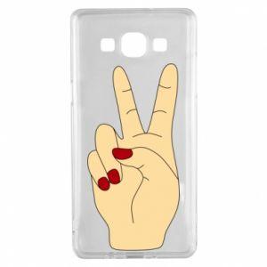 Etui na Samsung A5 2015 Hand peace