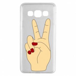 Etui na Samsung A3 2015 Hand peace