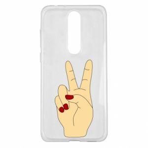 Etui na Nokia 5.1 Plus Hand peace