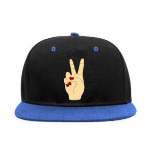 SnapBack Hand peace - PrintSalon