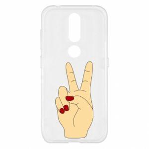 Etui na Nokia 4.2 Hand peace