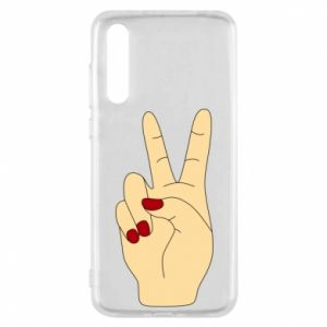Etui na Huawei P20 Pro Hand peace